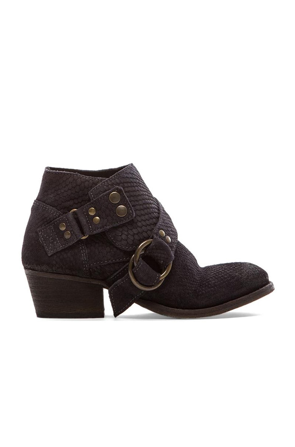 Free People Tortuga Ankle Boot in Black