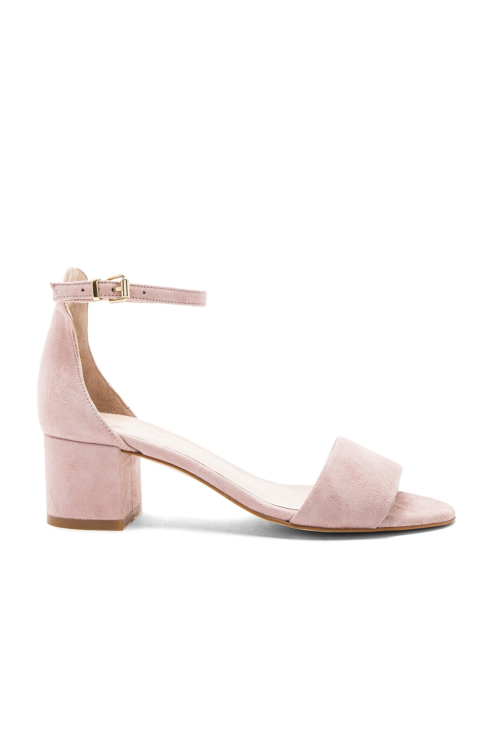 Free People Marigold Block Heel in Mauve