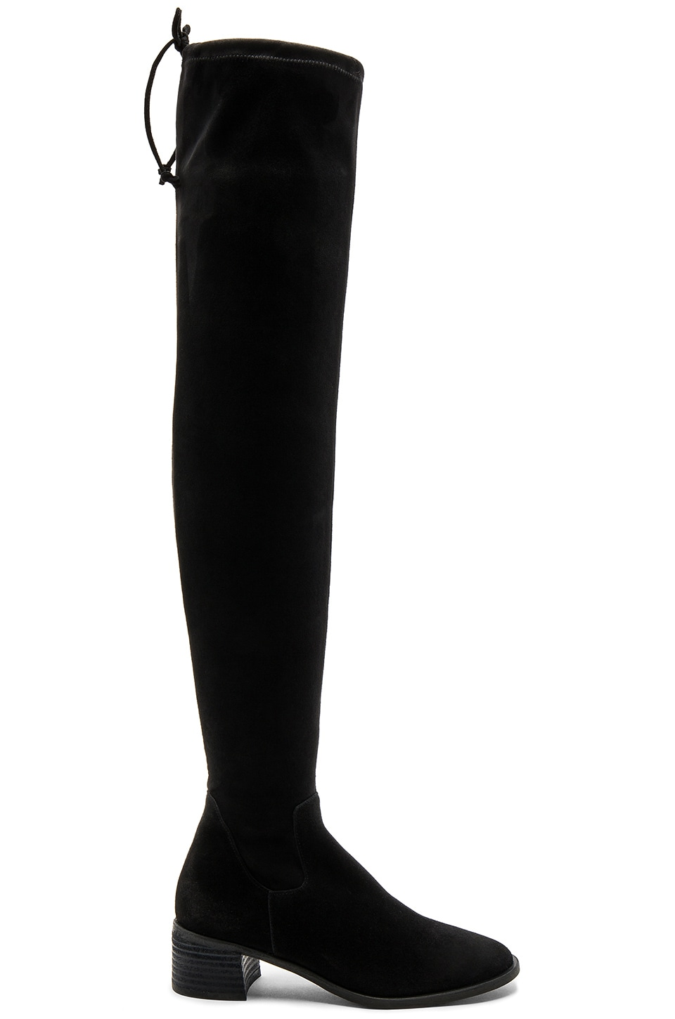 Free People Coast to Coast Over the Knee Boot in Black