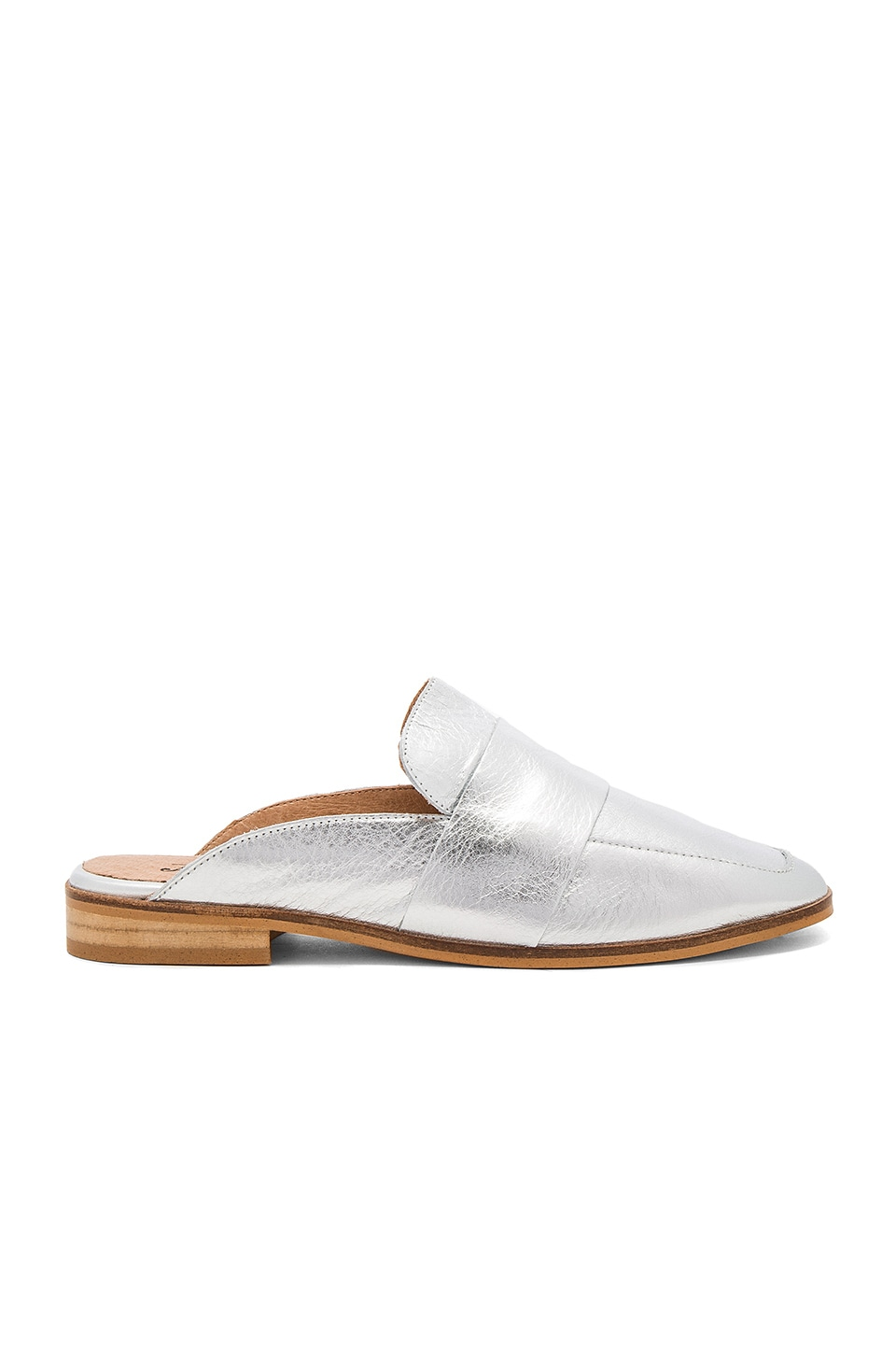 Free People At Ease Loafer in Silver