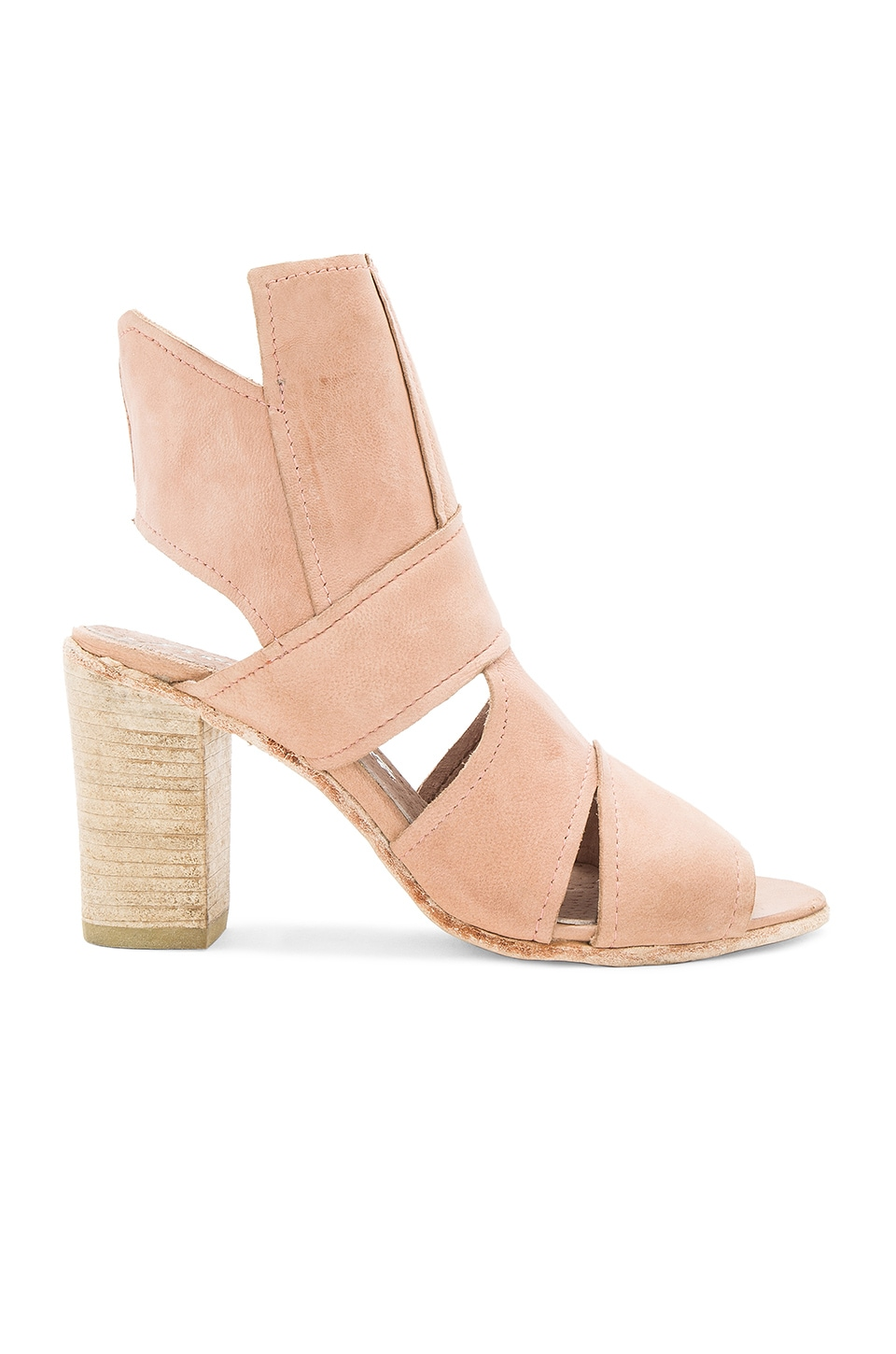 Free People Effie Block Heel in Pink