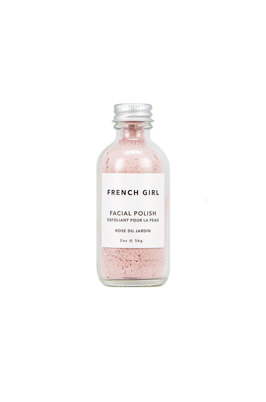 French Girl Organics Travel Rose Facial Polish