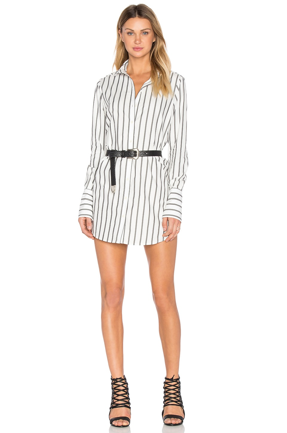 Buy Button Up Dress by Frankie