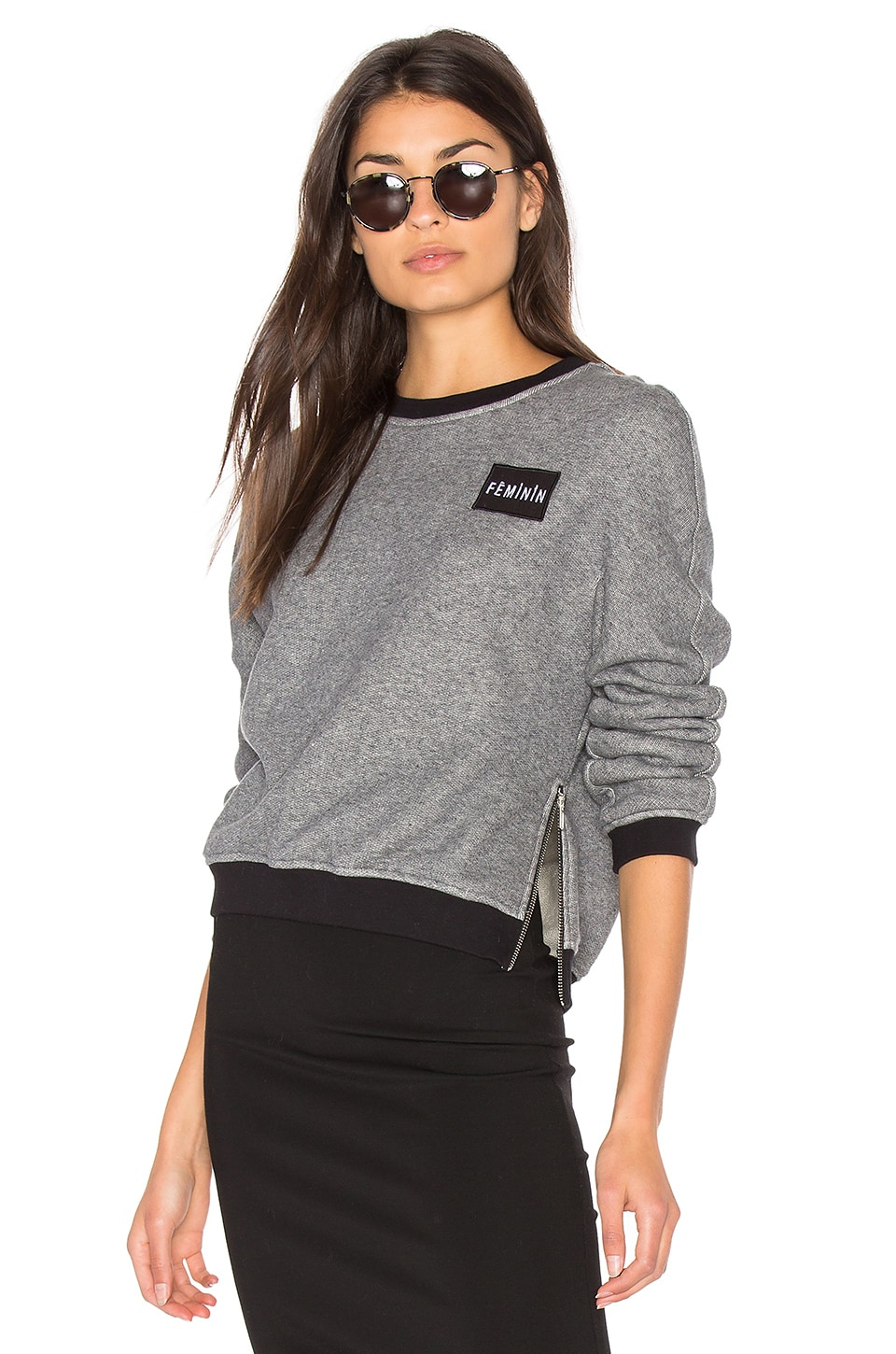 Patch Pullover Sweatshirt by Frankie