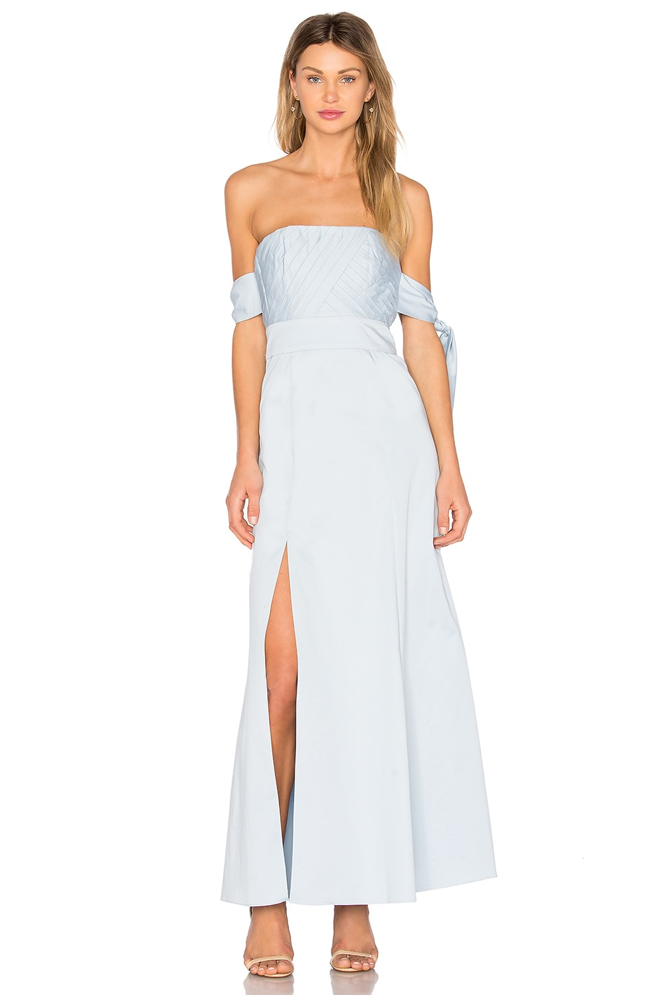 Photo of X REVOLVE Sandrine Maxi Dress by Fame And Partners on sale