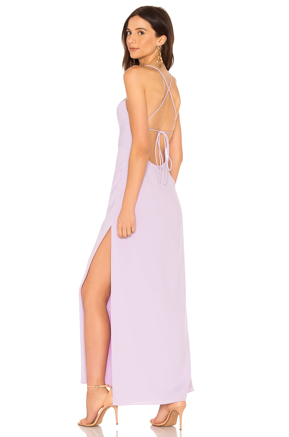 FAME AND PARTNERS The Millie Dress in Lilac