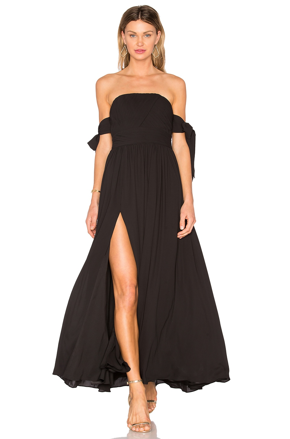 Photo of X REVOLVE Sandra Maxi Dress by Fame And Partners on sale