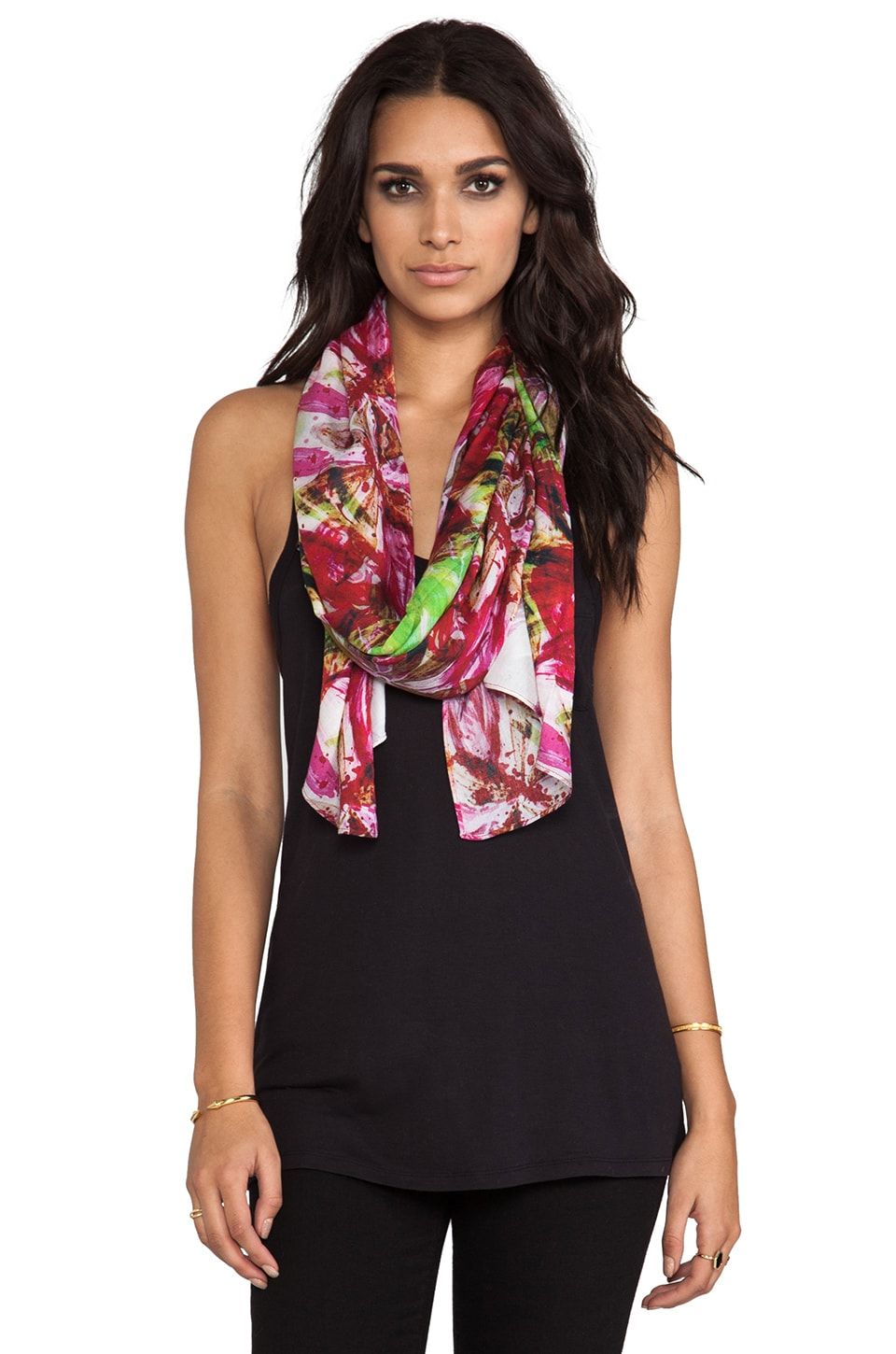 FRONT ROW SOCIETY Scarf in Leucadendron
