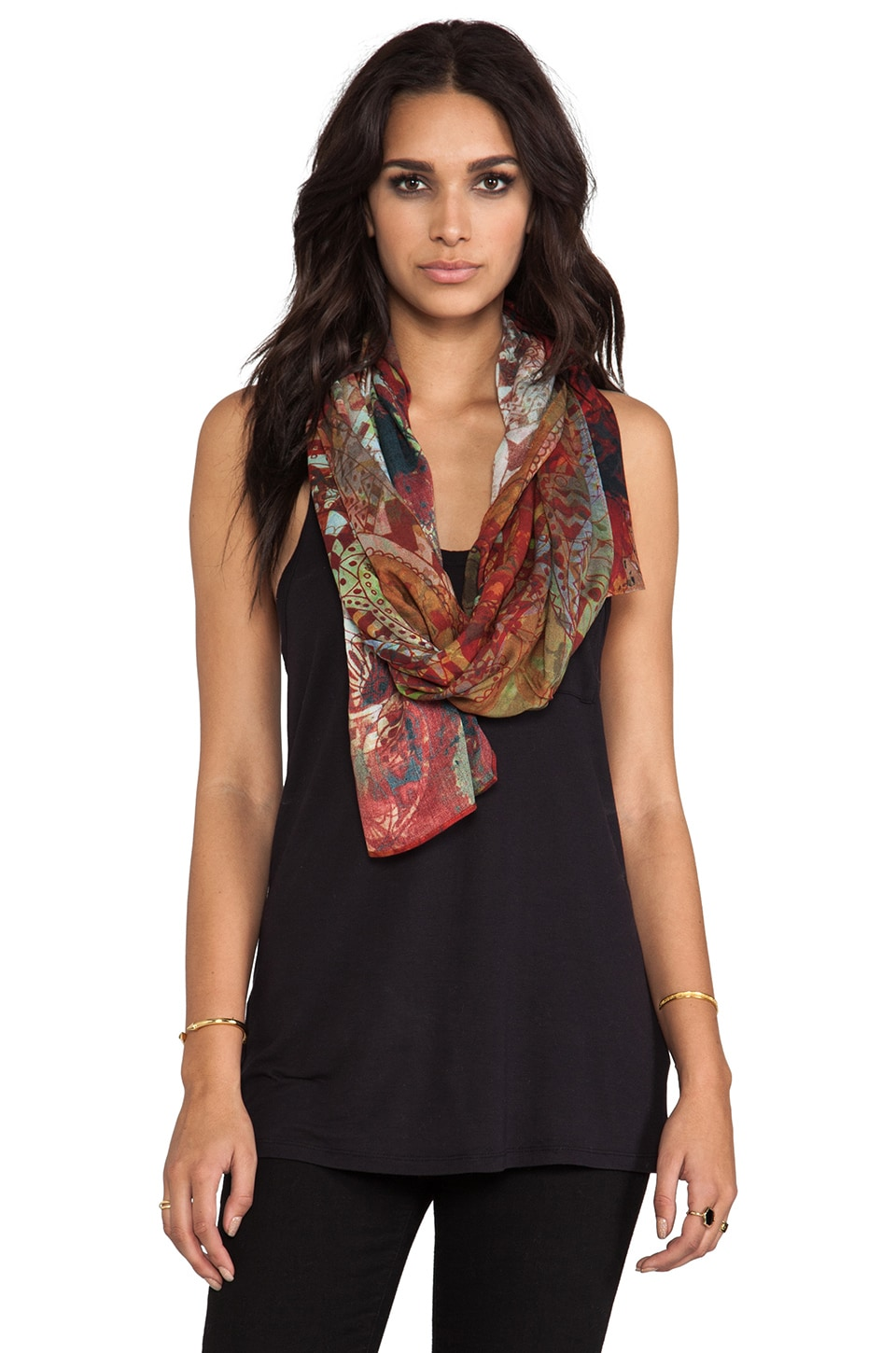 FRONT ROW SOCIETY Scarf in Paisley Paradise
