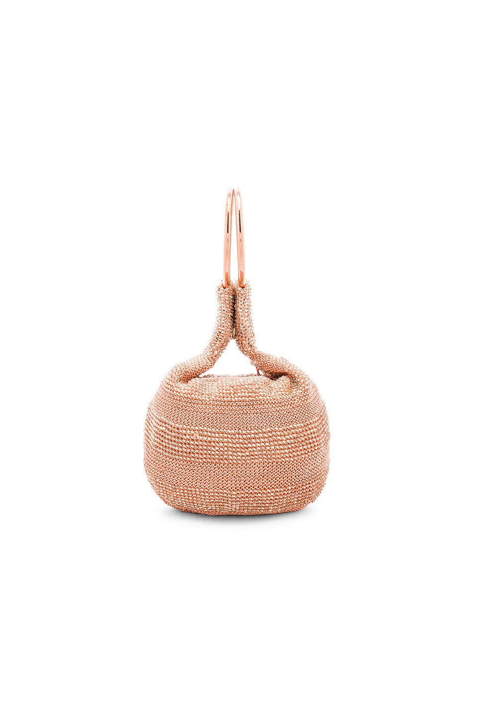 From St Xavier Goldie Bag in Rose Gold