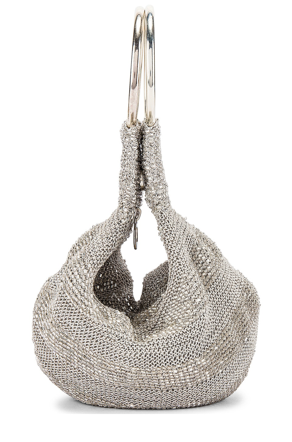 From St Xavier Goldie Tote in Silver