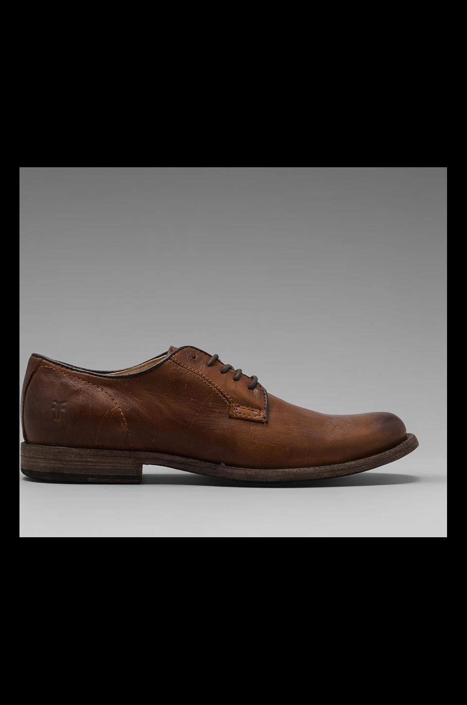 Frye Phillip Oxford in Cognac
