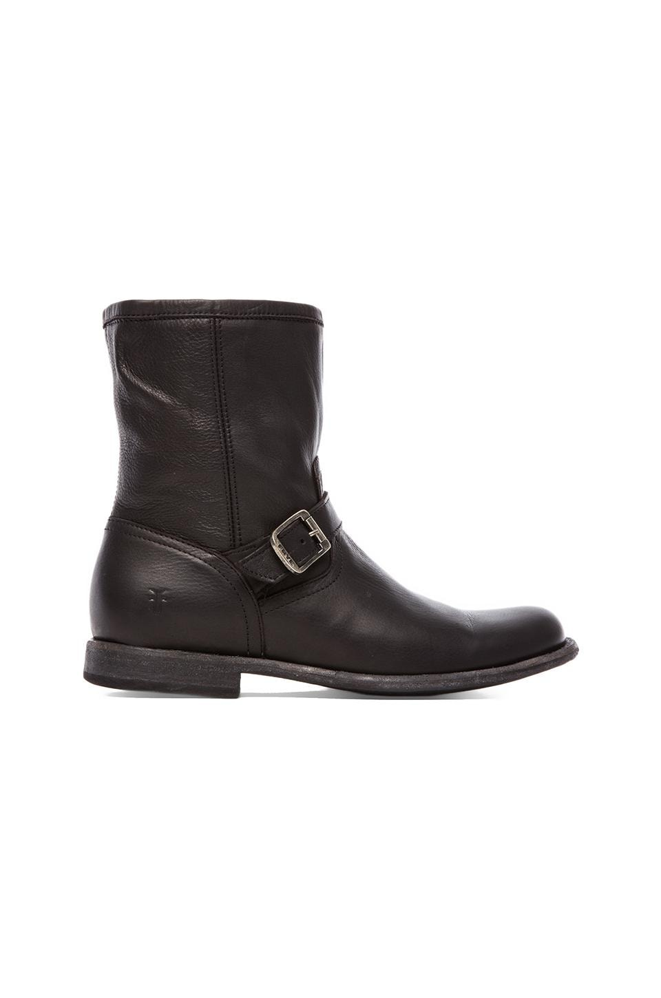 Frye Phillip Inside Zip Boot in Black