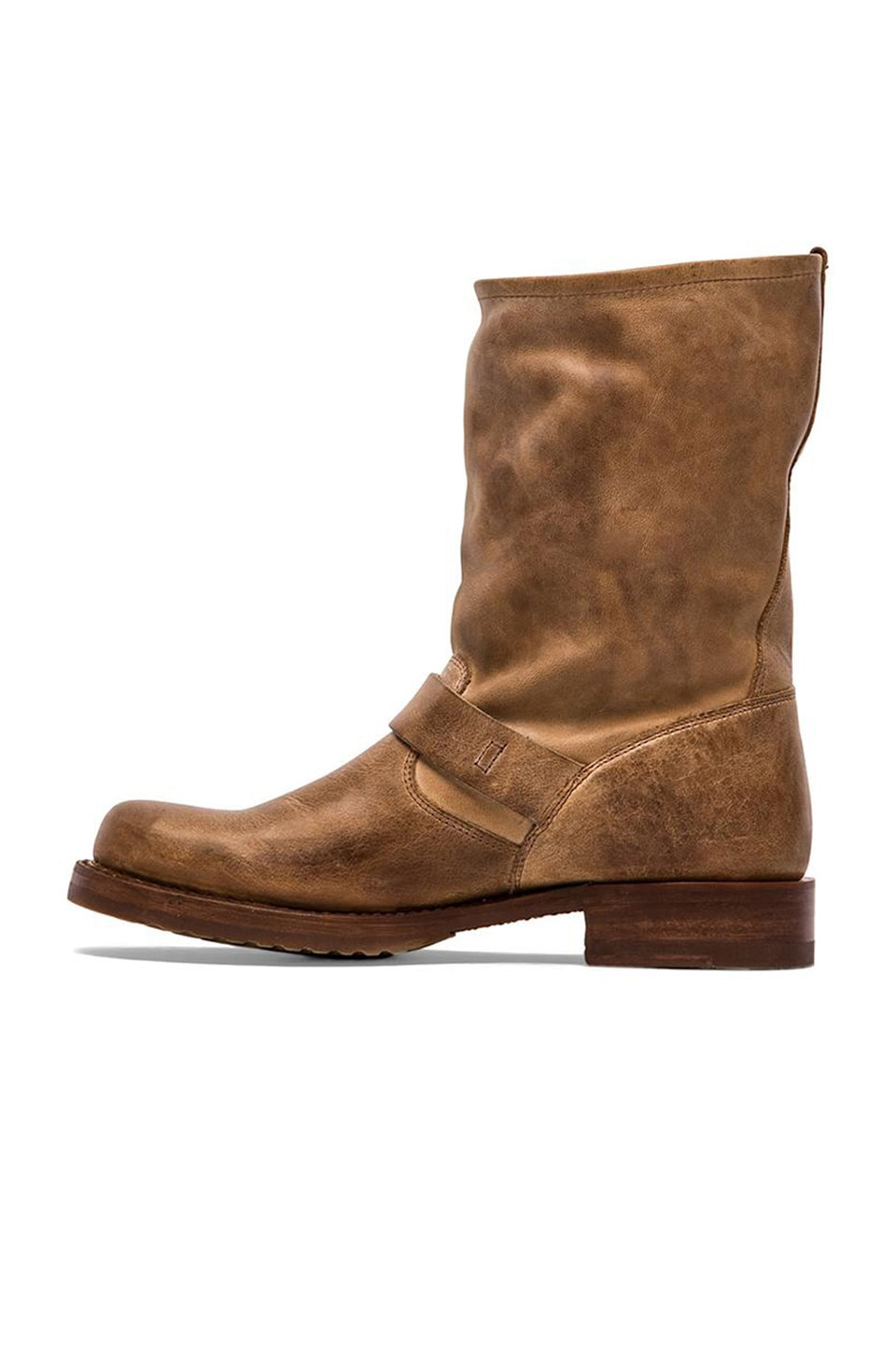 Frye Veronica Short Boot in Tan