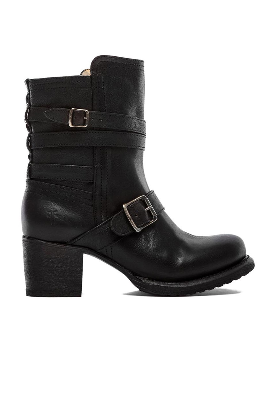 Frye Vera Strappy Boot in Black