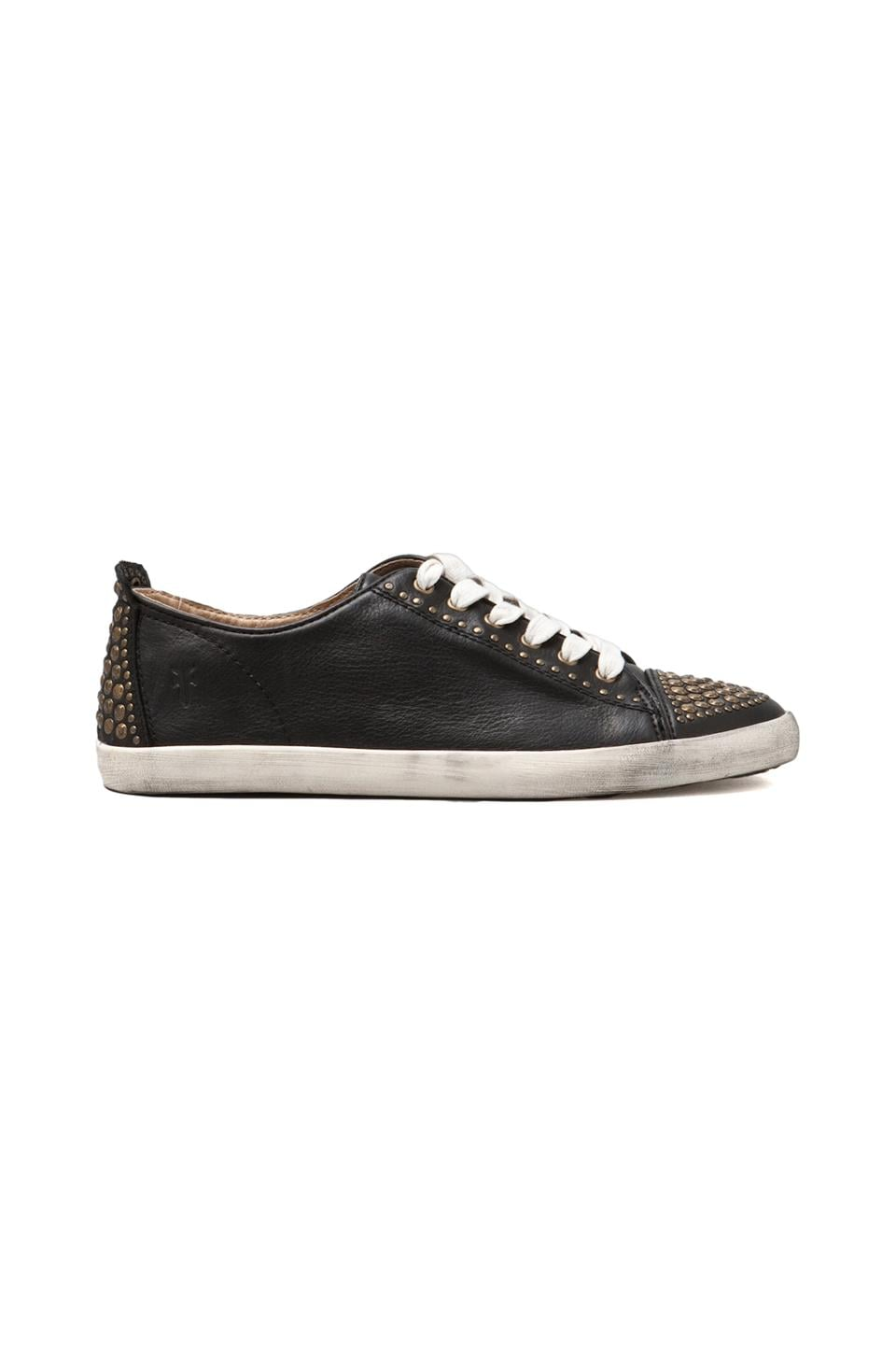Frye Kira Studded Low Top in Black