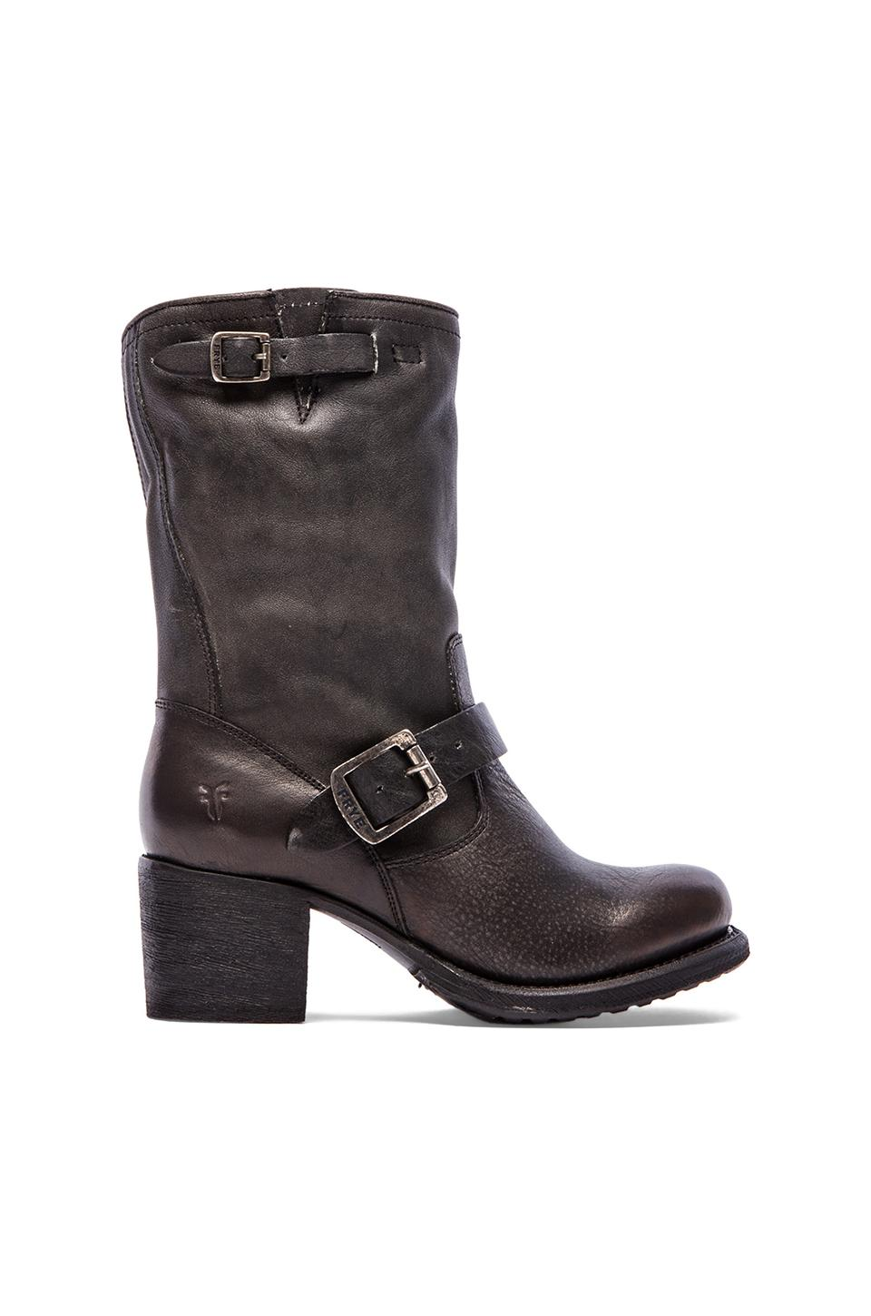 Frye Vera Short Boot in Black