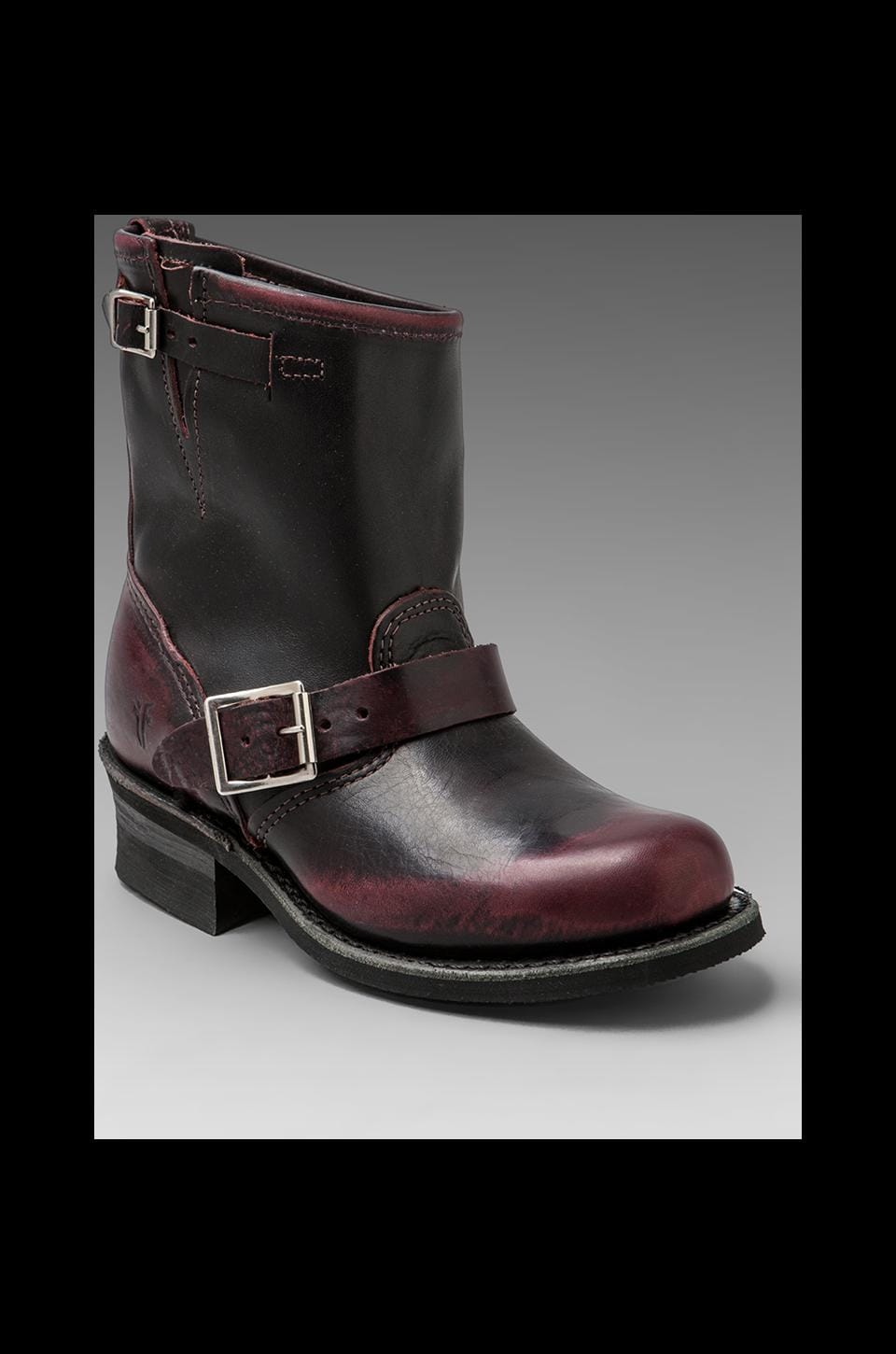 Frye Engineer 8R in Plum