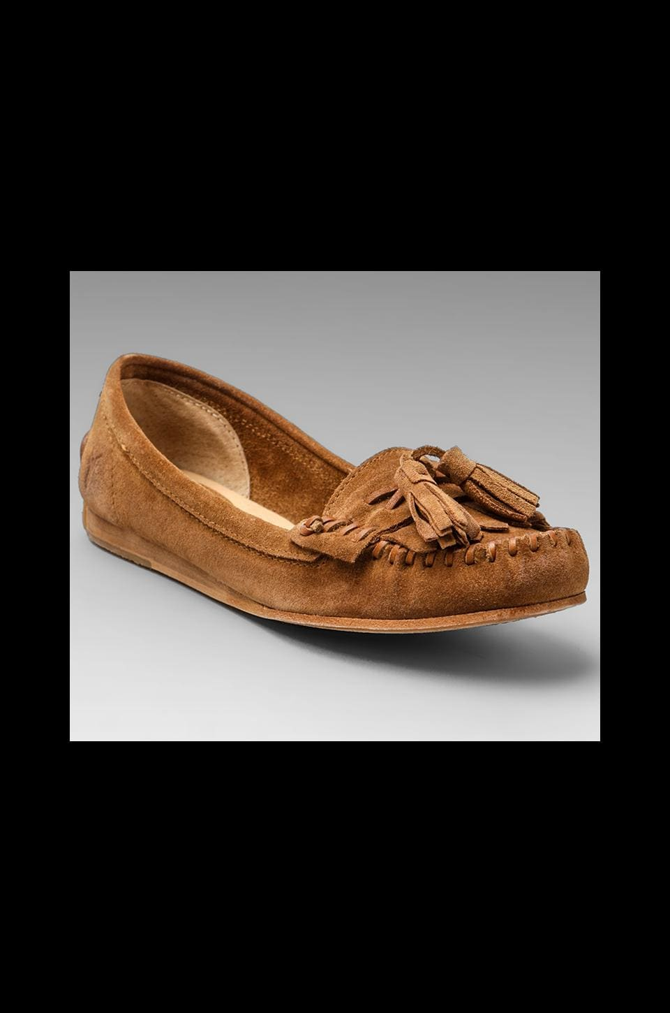 Frye Alex Tassel Moccasins in Brown