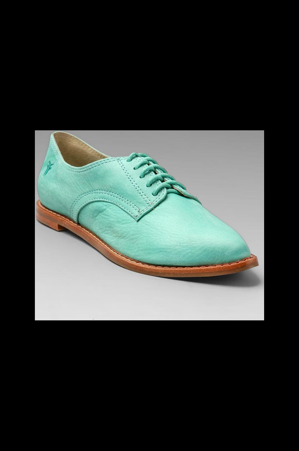 Frye Delia Oxford in Mint