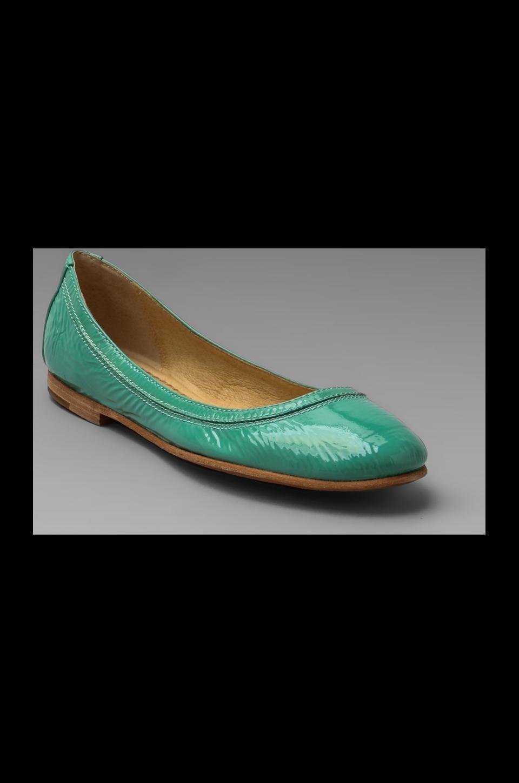 Frye Carson Ballet Flat in Mint