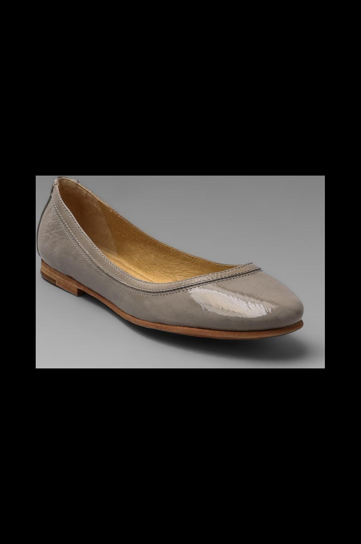 Frye Carson Ballet Flat in Grey