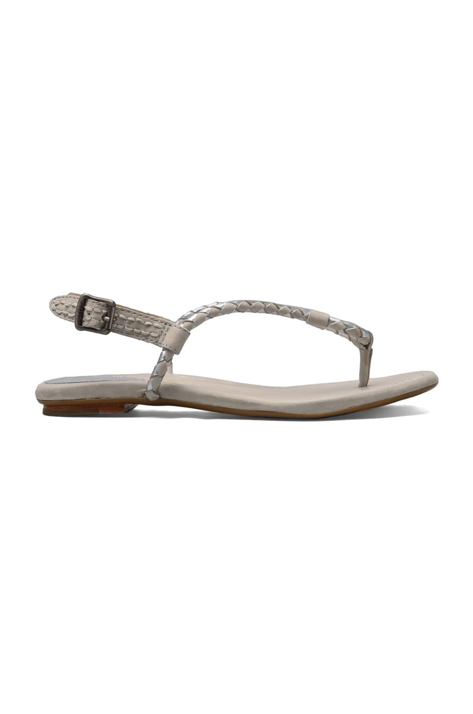 Frye Madison Braid Sling Sandal in Silver Multi