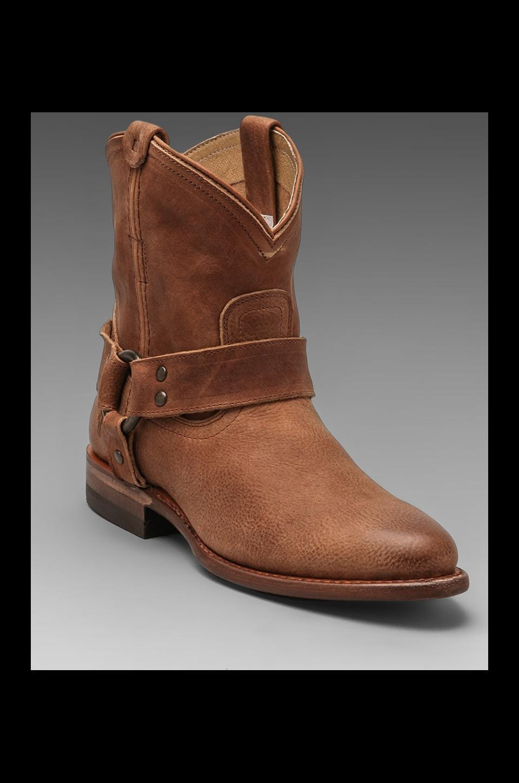 Frye Wyatt Harness Short Boot in Sand