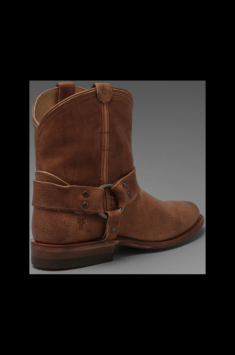 Frye Wyatt Harness Short Boot in Sand
