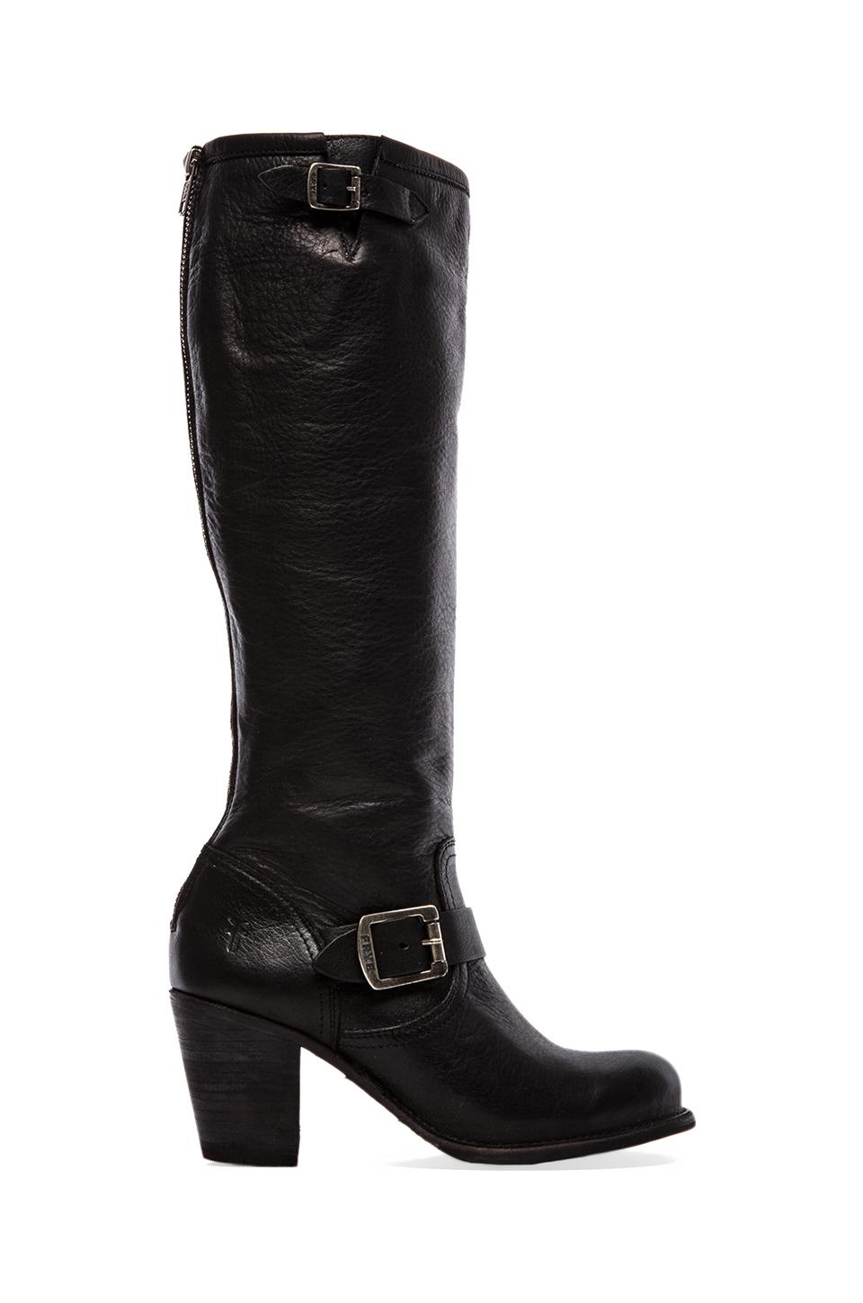 Frye Karla Engineer Tall in Black