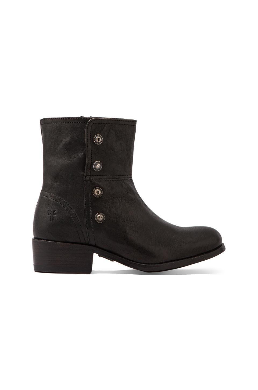 Frye Lynne Military Short Boot in Black