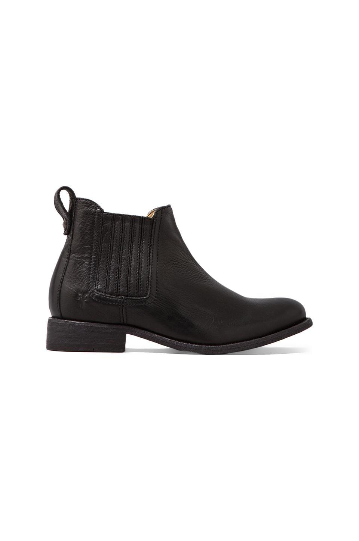 Frye Pippa Chelsea Ankle Bootie in Black