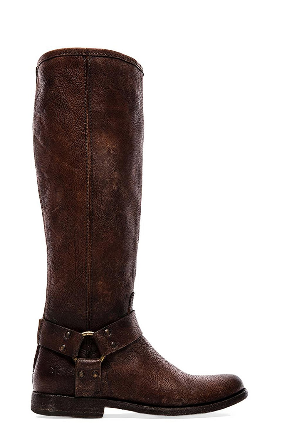 Frye Phillip Harness Tall in Cognac
