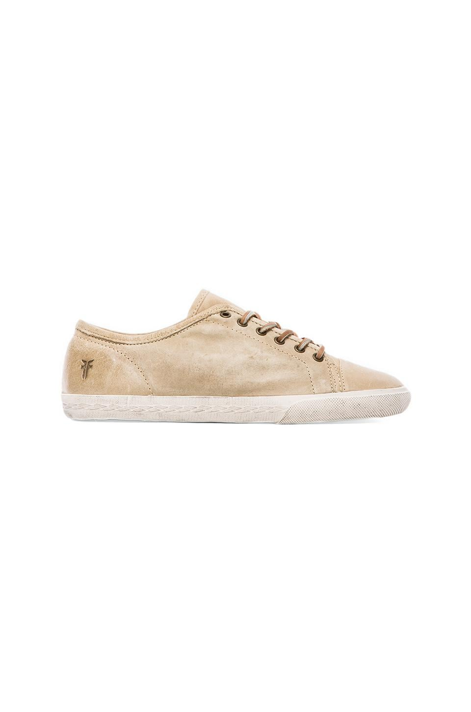 Frye Mindy Low Sneaker in Bone