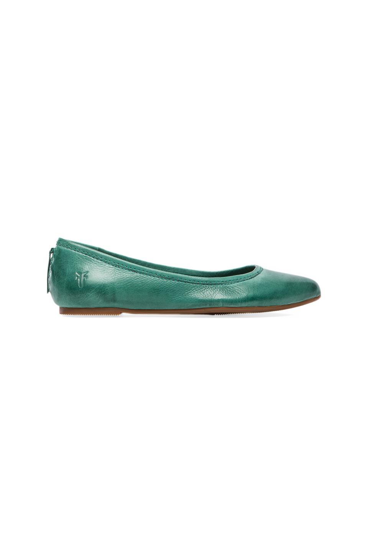 Frye Regina Ballet in Turquoise