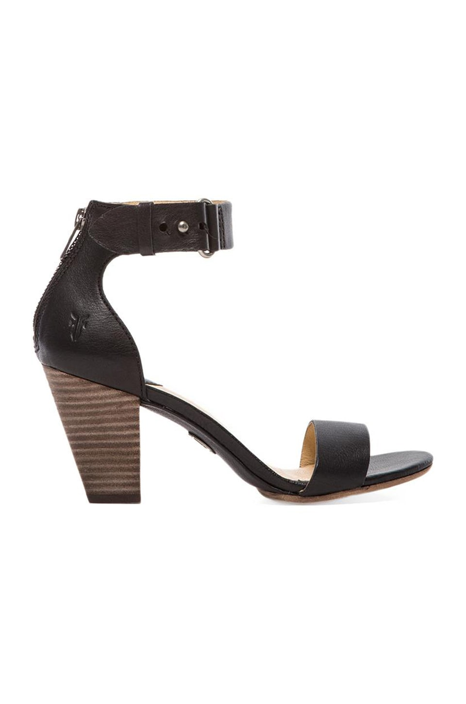 Frye Skye Belt Sandal in Black