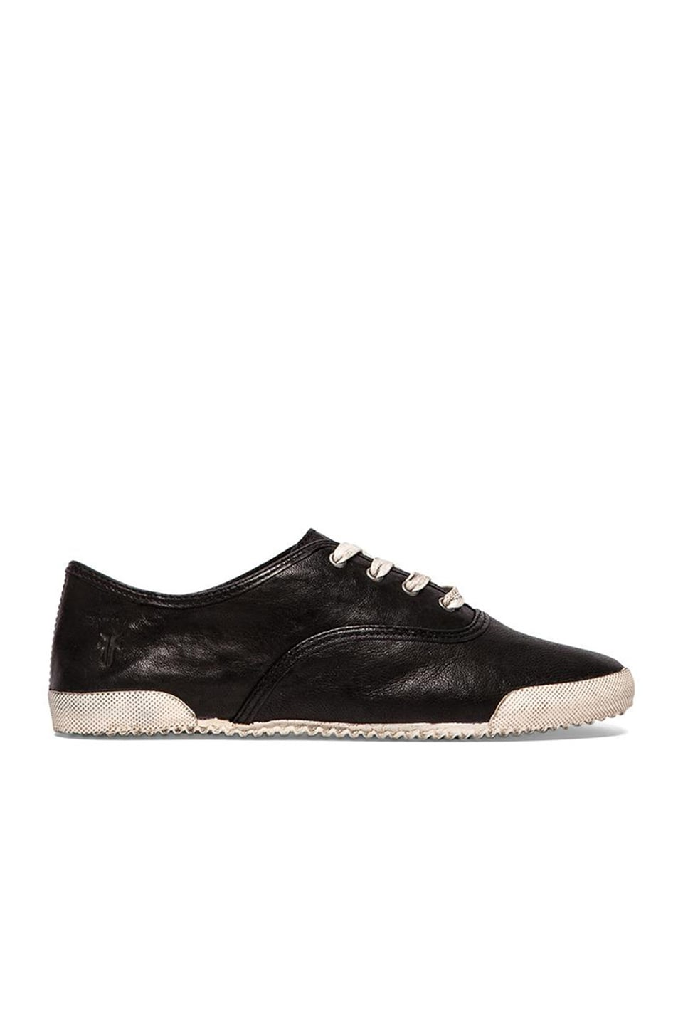 Frye Melanie Low Sneaker in Black