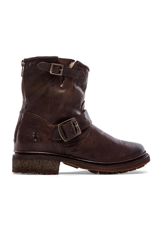 Frye Valerie 6 Boot in Dark Brown