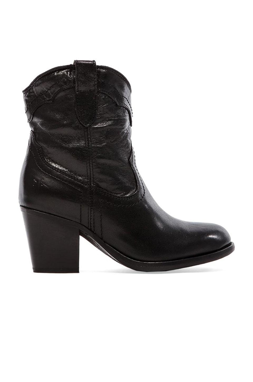 Frye Tabitha Pull On Short Boot in Black