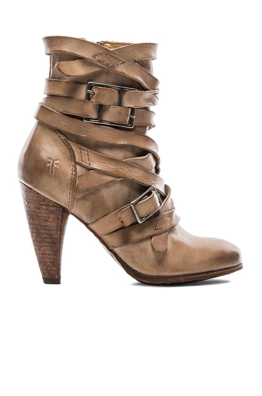 Frye Mikaela Strappy Boot in Grey