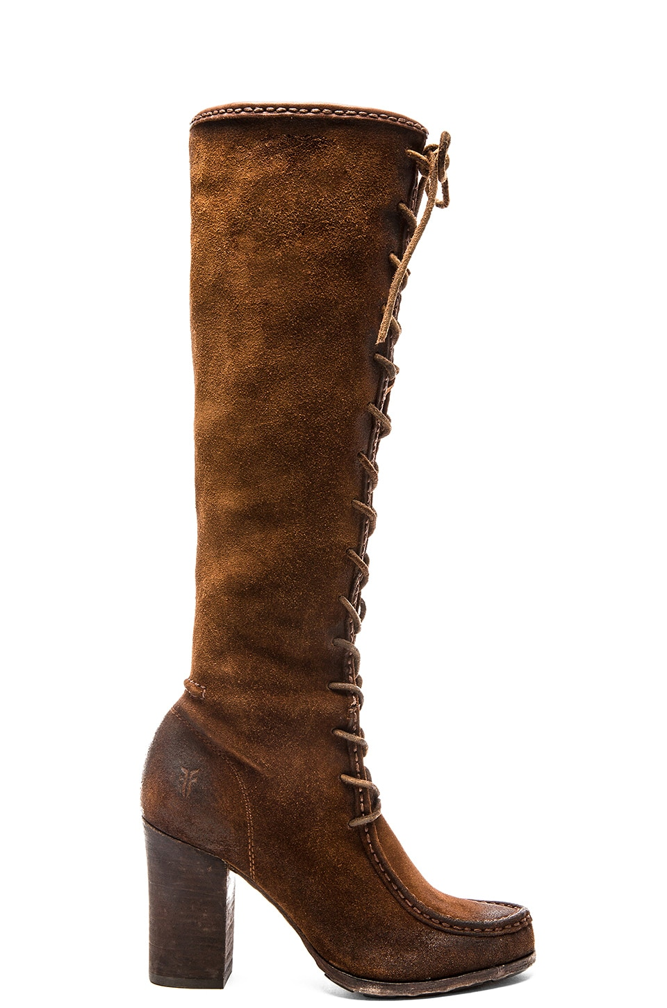 Frye Parker Moc Tall Boot in Brown