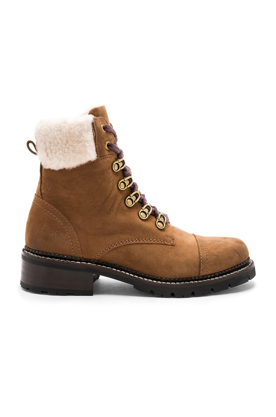 Samantha Shearling Hiker Boot by Frye