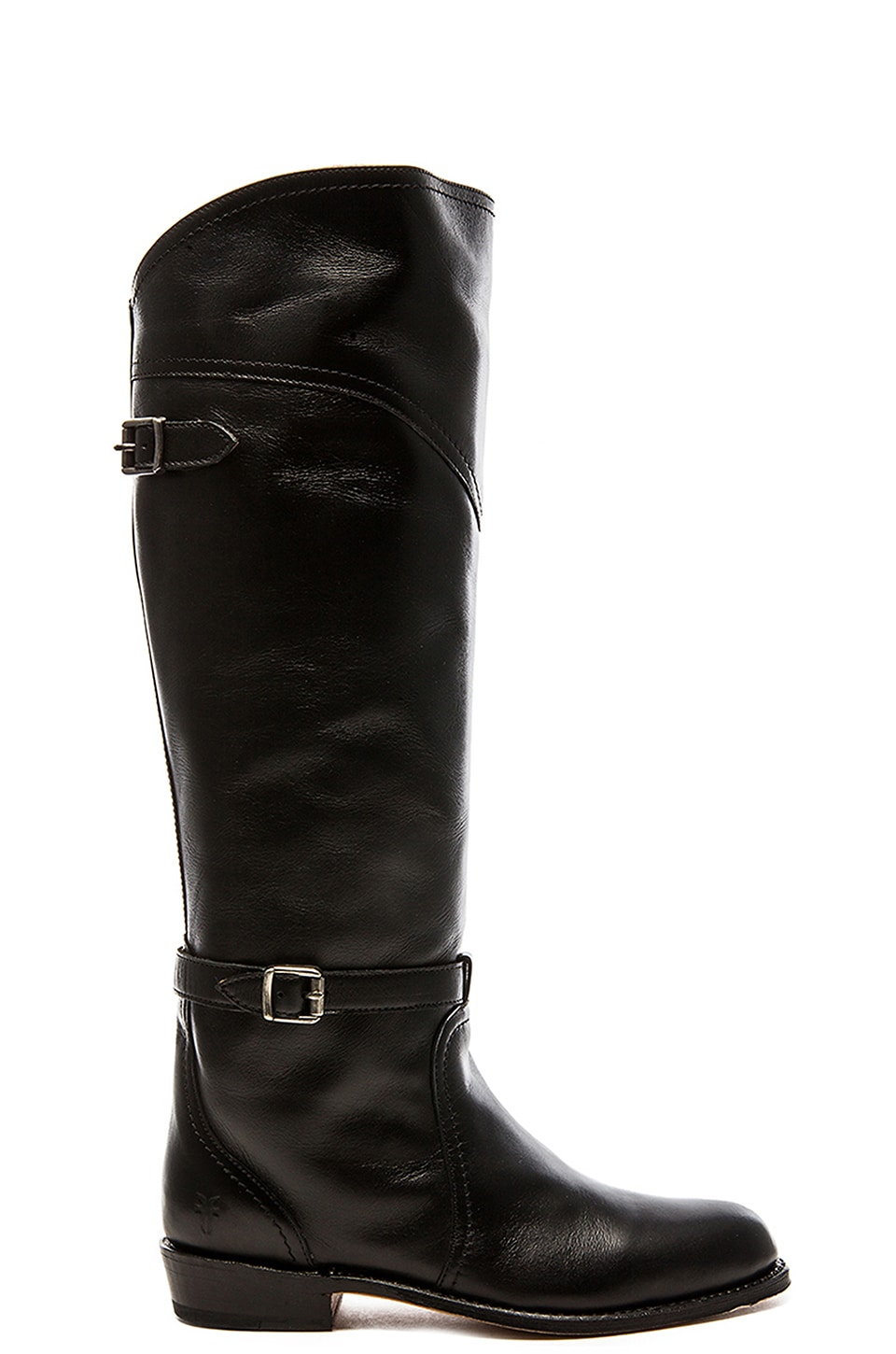 Frye Dorado Classic Riding Boot in Black