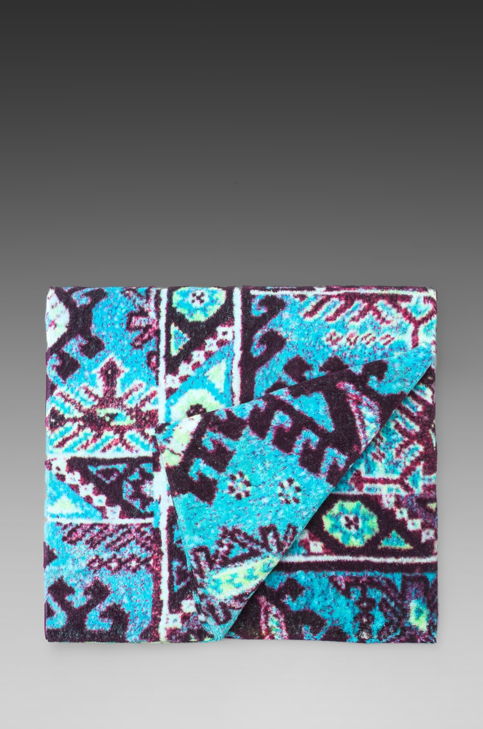 Fresco Towels Aztec Beach Towel in Blue