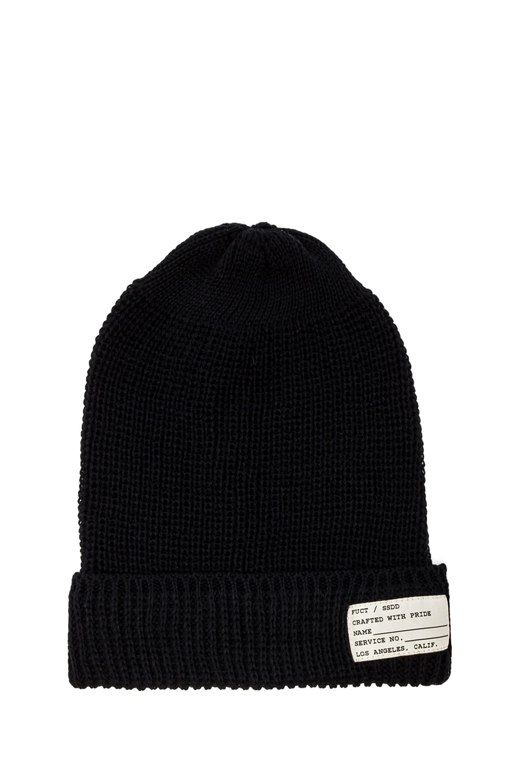 Fuct SSDD Watch Cap in Black
