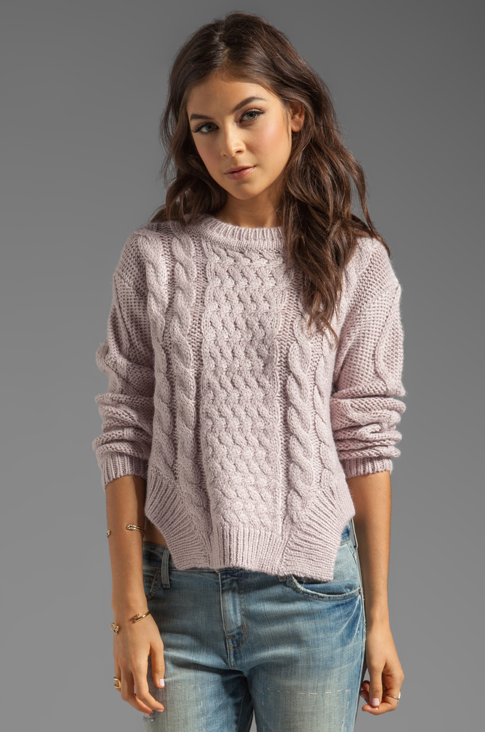 Funktional Glacier Sweater in Lavender