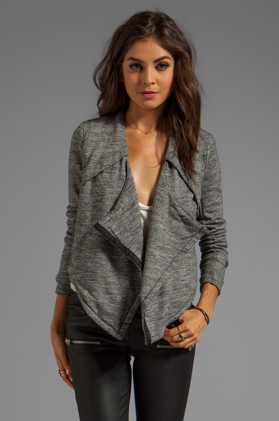 Funktional Drape Jacket in Graphite