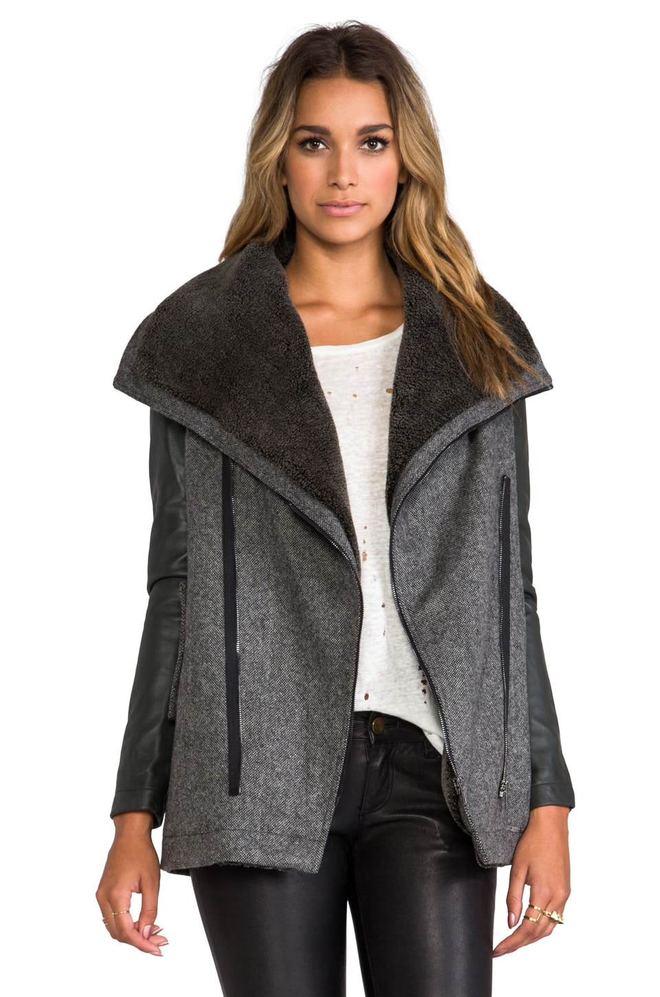 Funktional Atomic Faux Shearling Jacket in Atomic