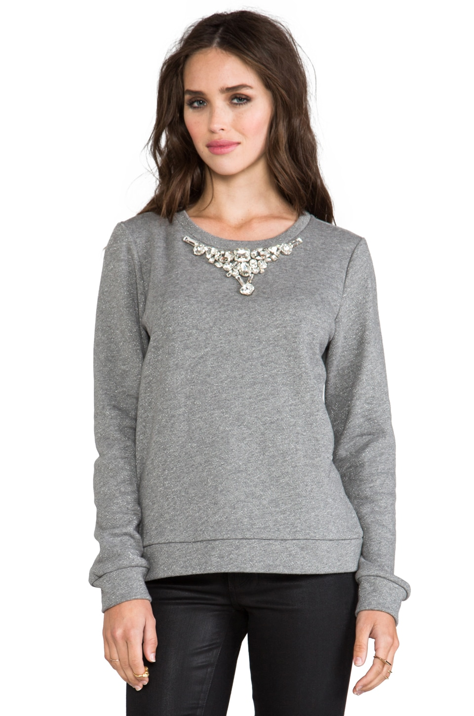 Funktional Illumination Sweatshirt in Heather Grey
