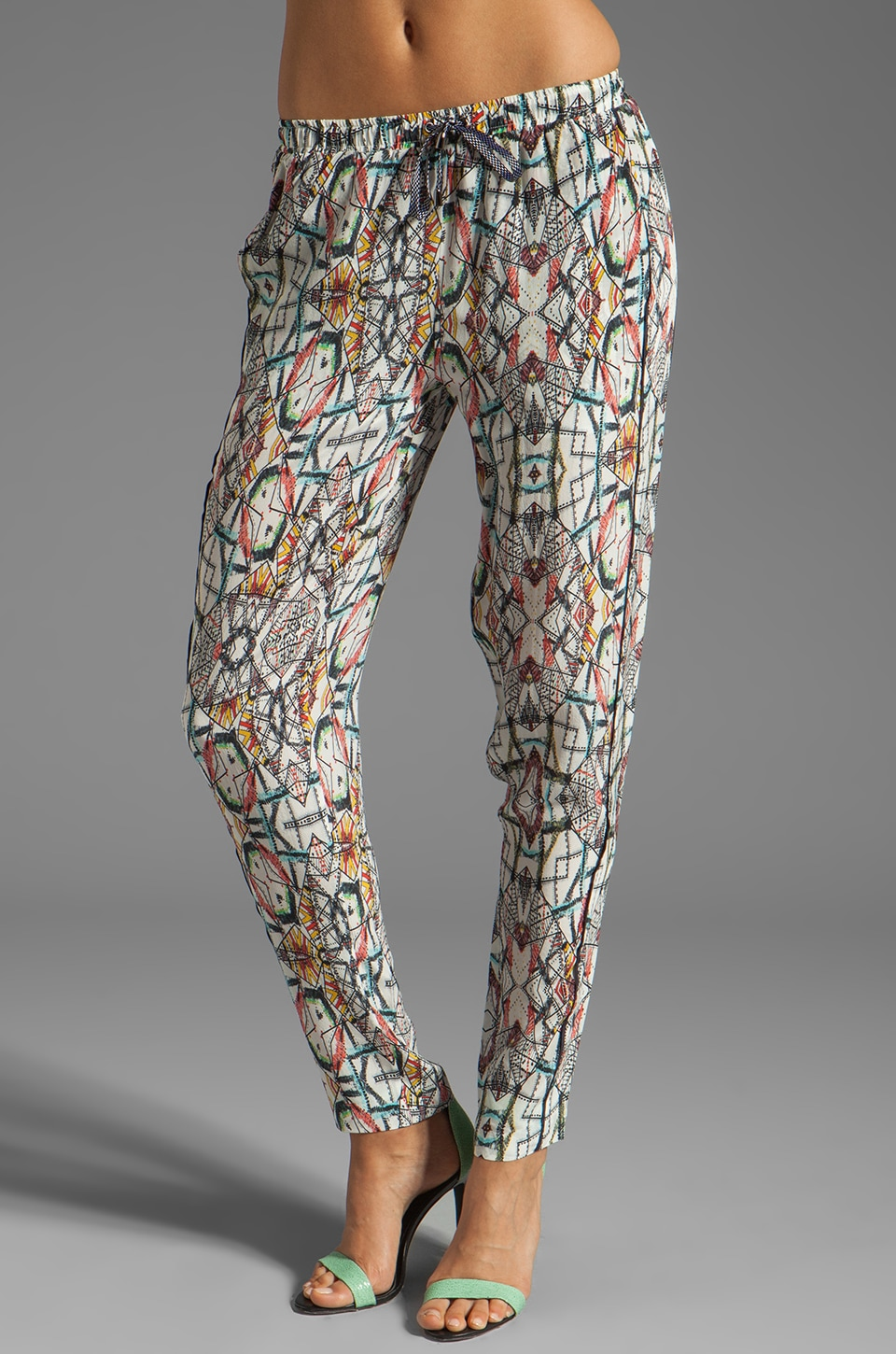 Funktional Kaleidoscope Drawstring Pant in Kaleidoscope